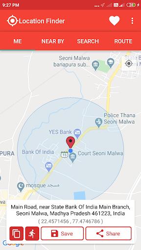 Location Finder 1 تصوير الشاشة