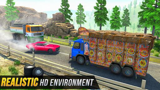 Kamyon Römorku - Kargo Kamyon Sürücüsü screenshot 5