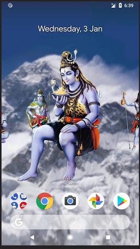 4D Shiva Live Wallpaper 5 تصوير الشاشة