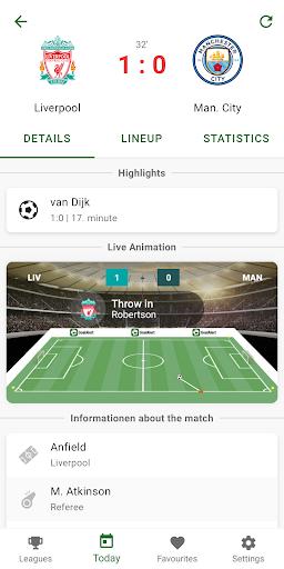 GoalAlert - The fastest football app 3 تصوير الشاشة