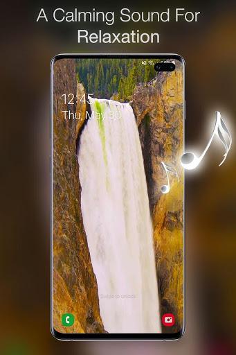 خلفية شلال متحركة 3 تصوير الشاشة