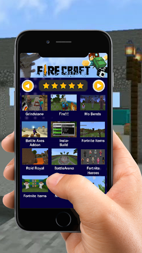 Mod Fire Craft for MCPE screenshot 4