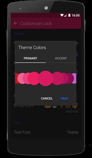 Textra SMS screenshot 2