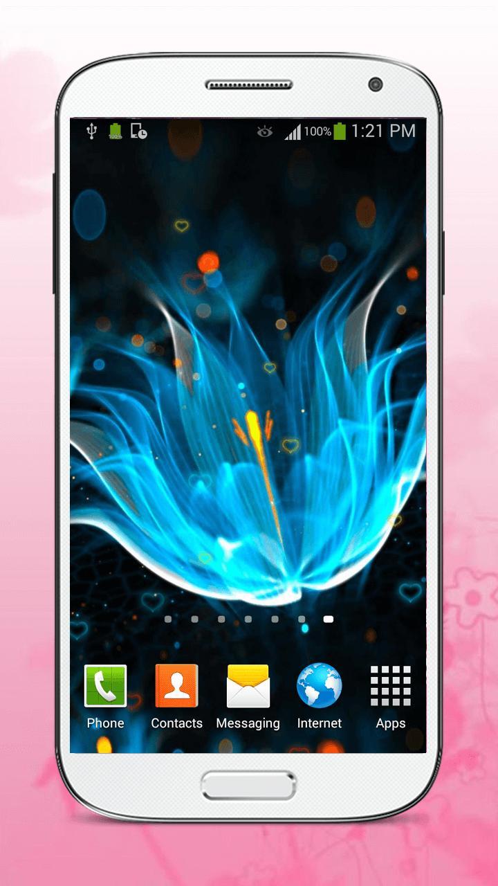 Luminous Flower Live Wallpaper screenshot 4