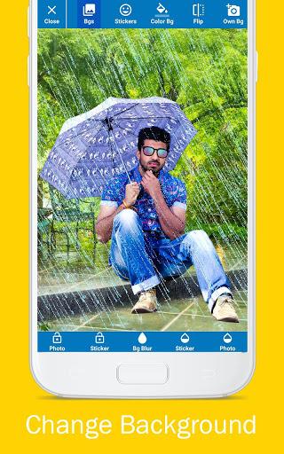 Rain Photo Editor and Frames 3 تصوير الشاشة