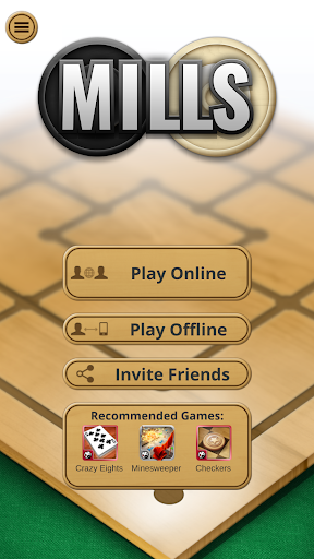 Nine men's Morris - Mills - Free online board game 6 تصوير الشاشة