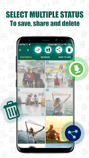 Status Download for WhatsApp 3 تصوير الشاشة
