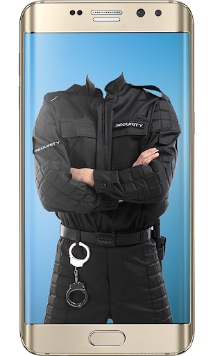 Police Suit Photo & Image Editor - Photo Frames 7 تصوير الشاشة