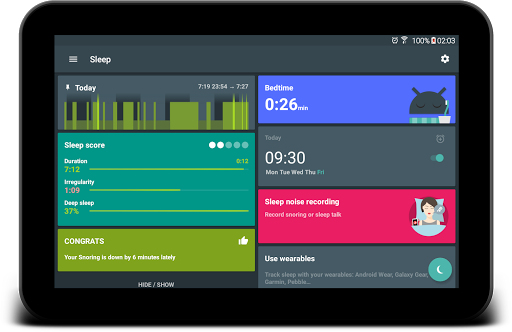 Sleep as Android 💤 Cicli del sonno, Sveglia screenshot 10