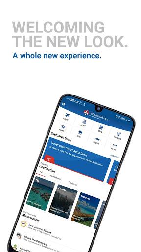 AkbarTravels - Flight Tickets | Flight Booking App screenshot 2