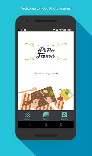 Food photo frames screenshot 1