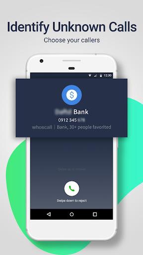 Whoscall - معرف المتصل وحظره 1 تصوير الشاشة