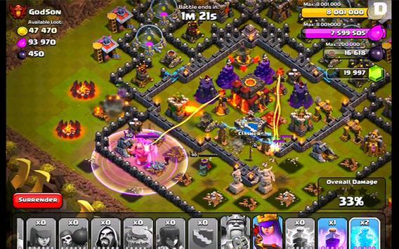 Strategy war coc 1 تصوير الشاشة
