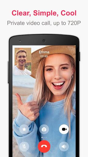 JusTalk - Free Video Calls and Fun Video Chat screenshot 1