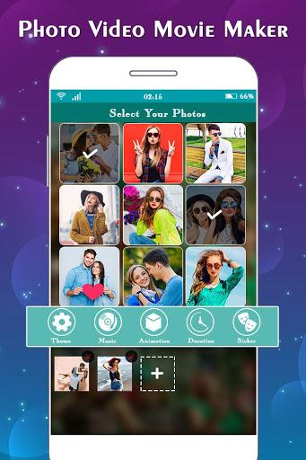 Photo to Video Maker with Music : Slideshow Maker 1 تصوير الشاشة
