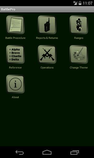 Battle Procedure Aide Memoire screenshot 1