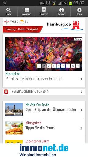 Hamburg App स्क्रीनशॉट 1