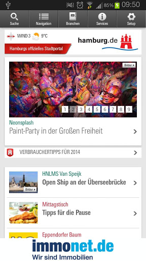 Hamburg App screenshot 1