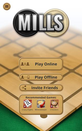 Nine men's Morris - Mills - Free online board game 11 تصوير الشاشة