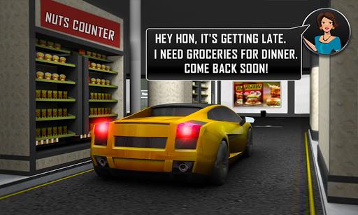 चलाना थ्रू सुपरमार्केट: खरीदारी मॉल कार ड्राइविंग स्क्रीनशॉट 4