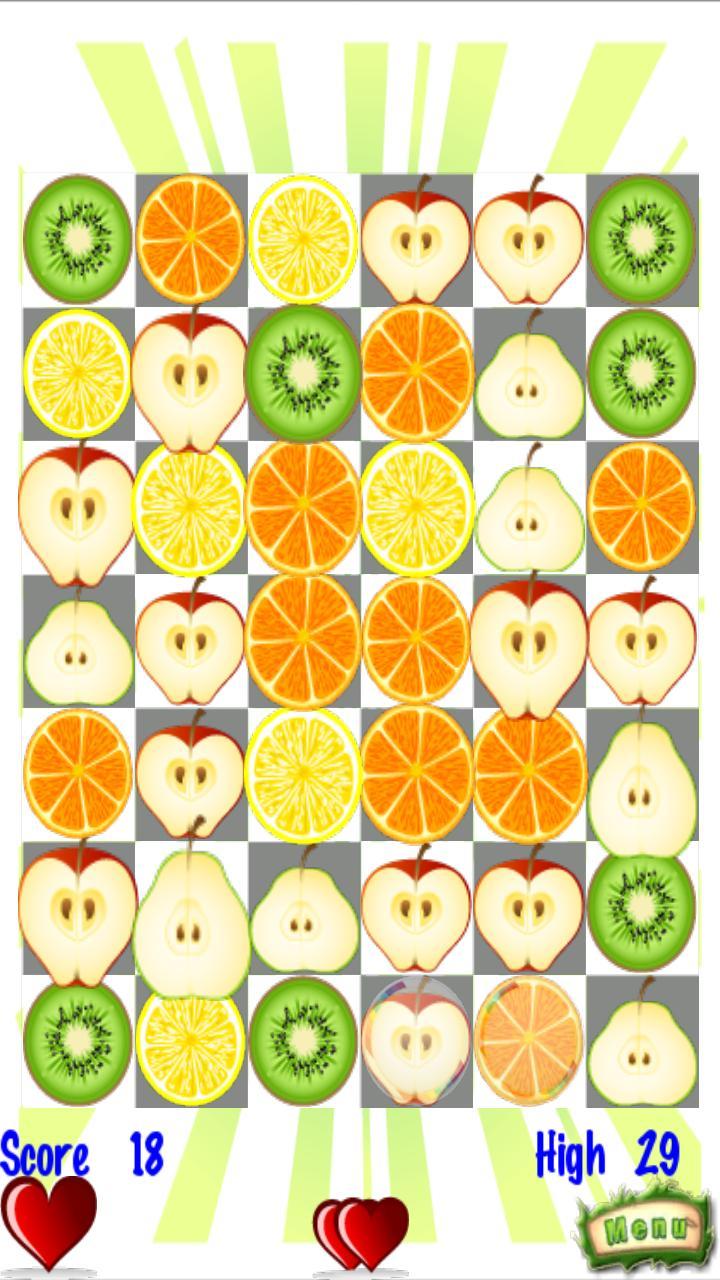 Fruits Match 1 تصوير الشاشة