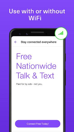 TextNow - 무료 문자, 음성 및 영상 통화 앱 screenshot 2