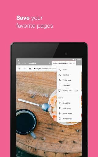 Opera browser with free VPN screenshot 14