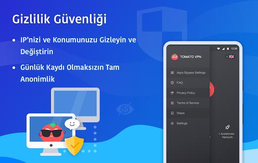 Ücretsiz VPN Tomato | En Hızlı Ücretsiz VPN Proxy screenshot 5