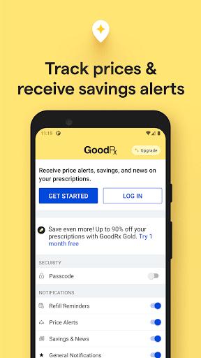 GoodRx: Prescription Drugs Discounts & Coupons App 6 تصوير الشاشة