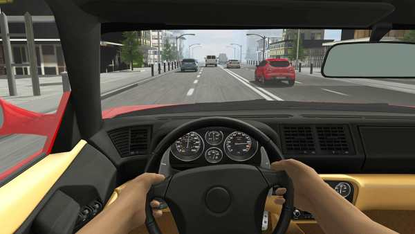 Racing in Car 2 скриншот 2