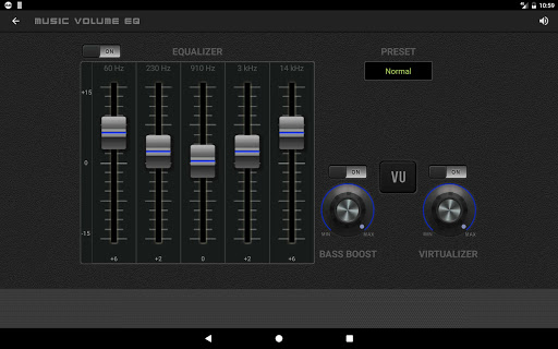 Music Volume EQ — Equalizer Bass Booster Amplifier 12 تصوير الشاشة