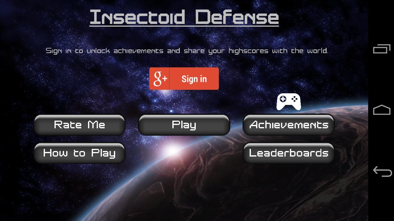 Insectoid Defense screenshot 1