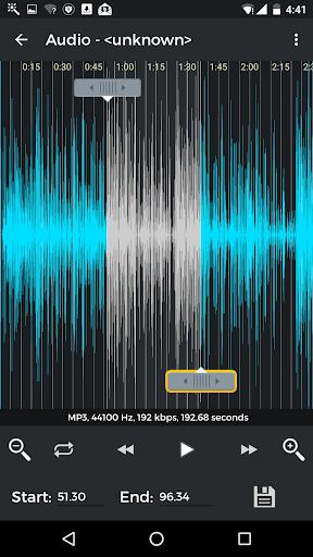 MP3 كتر وصانع النغمات 3 تصوير الشاشة