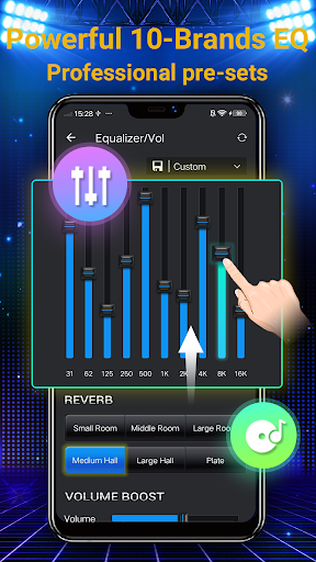 Music Player - 10 Bands Equalizer MP3 Audio Player screenshot 3