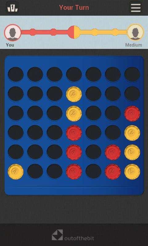 Four In A Row - Classic Board Games screenshot 1