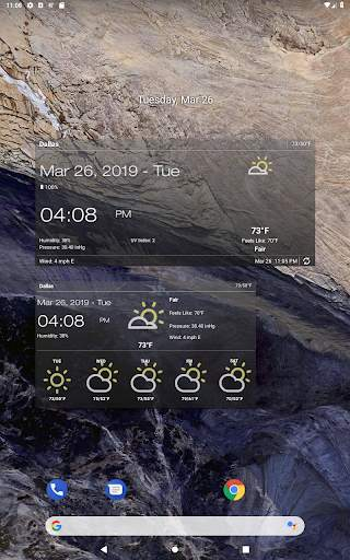 Weather & Clock Widget for Android screenshot 13