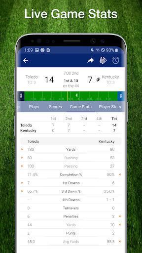 College Football Live Scores, Plays, & Schedules 3 تصوير الشاشة