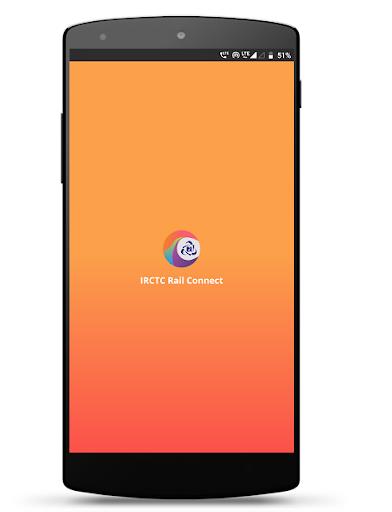 IRCTC Rail Connect - for RAIL SAARTHI screenshot 1