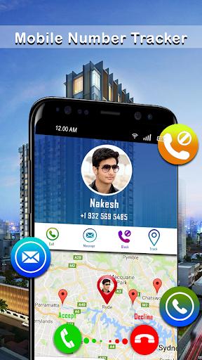 Mobile Phone Caller Number Tracker screenshot 1