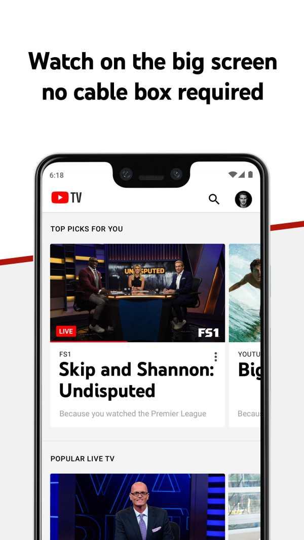 YouTube TV - Watch & Record Live TV screenshot 3