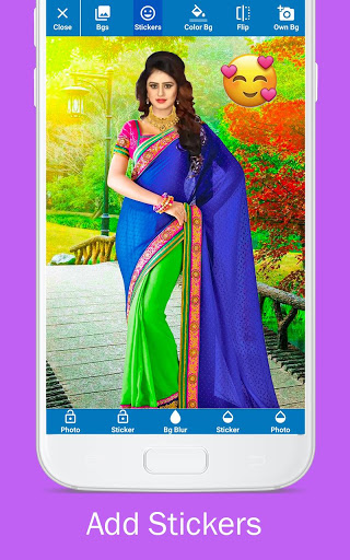 Woman Fancy Saree Photo Suit Editor 6 تصوير الشاشة