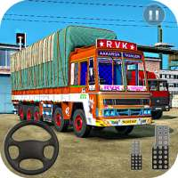 Indian Truck Spooky Stunt : Cargo Truck Driver on 9Apps