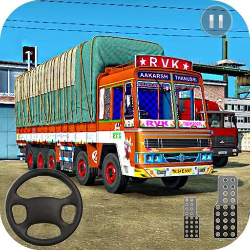 Indian Truck Spooky Stunt : Cargo Truck Driver