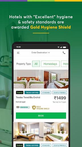 Treebo: Hotel Booking App | Book Safe Stays 5 تصوير الشاشة