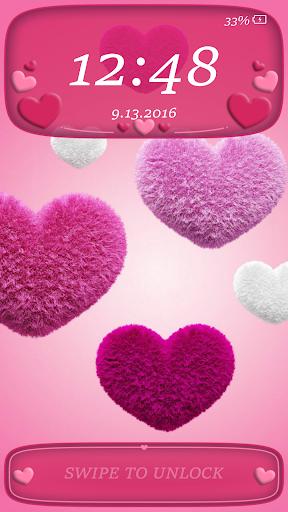 Lock Screen Pin Love Theme screenshot 3