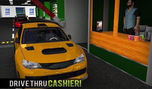 चलाना थ्रू सुपरमार्केट: खरीदारी मॉल कार ड्राइविंग स्क्रीनशॉट 12