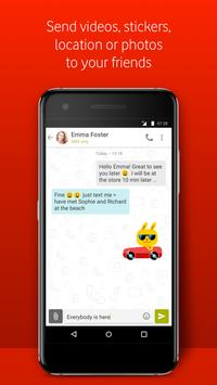 Vodafone Call  & Message  3 تصوير الشاشة