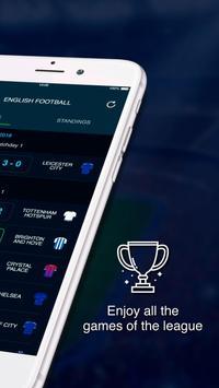 English League Scores स्क्रीनशॉट 2