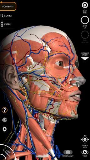 Anatomy 3D Atlas 8 تصوير الشاشة