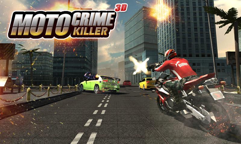Moto Crime Killer 3D screenshot 1